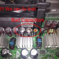 Leaky Capacitors